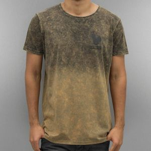 Berlin T-Shirt Brown/Black XL
