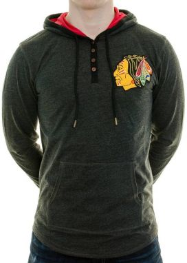 Tričko Playoff Spot Chicago Blackhawks Black XL