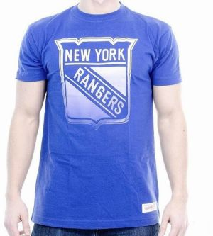 Tričko Gradient Infill Traditional NY Rangers Blue XL