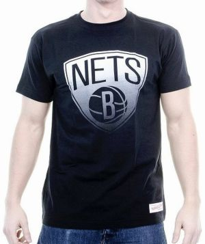 Tričko Gradient Infill Traditional Brooklyn Nets S