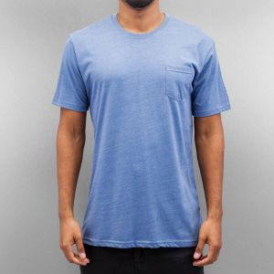 Breast Pocket T-Shirt Grey-Blue S
