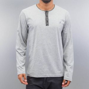 Button Tape Longsleeve Grey XL