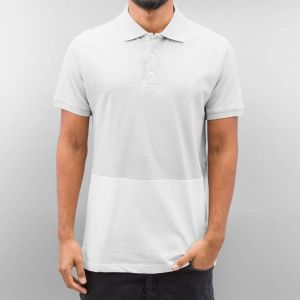 Halvar Polo Shirt White/Grey XL