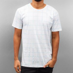 Checked III T-Shirt White XL