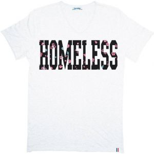 Tričko Homeless White S