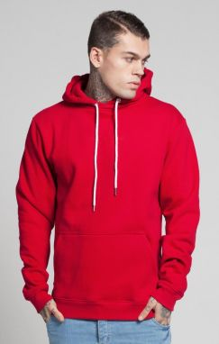 Mikina Illusive London Oversize Kangaroo Red M