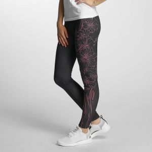 Flourish Leggings Black/Pink M