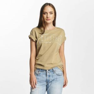 Cerium Oversized T-Shirt Beige XL