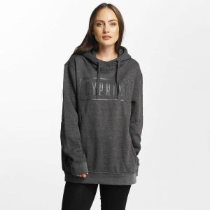Zirconium Oversized Hoody Anthracite XL
