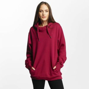 Platinum Oversized Hoody Burgundy XL