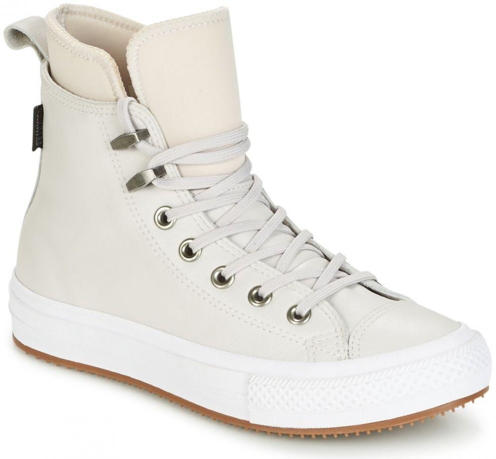 Členkové tenisky Converse CHUCK TAYLOR WP BOOT WP LEATHER HI PALE  PUTTY PALE PUTTY WHITE značky Converse - Lovely.sk a3478da441a