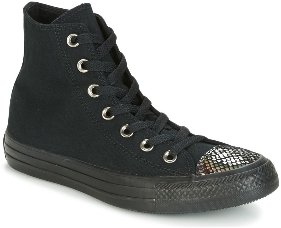 Členkové tenisky Converse CHUCK TAYLOR ALL STAR FASHION SNAKE TOECAP HI  BLACK BLACK BLACK značky Converse - Lovely.sk 0245f70b8b6