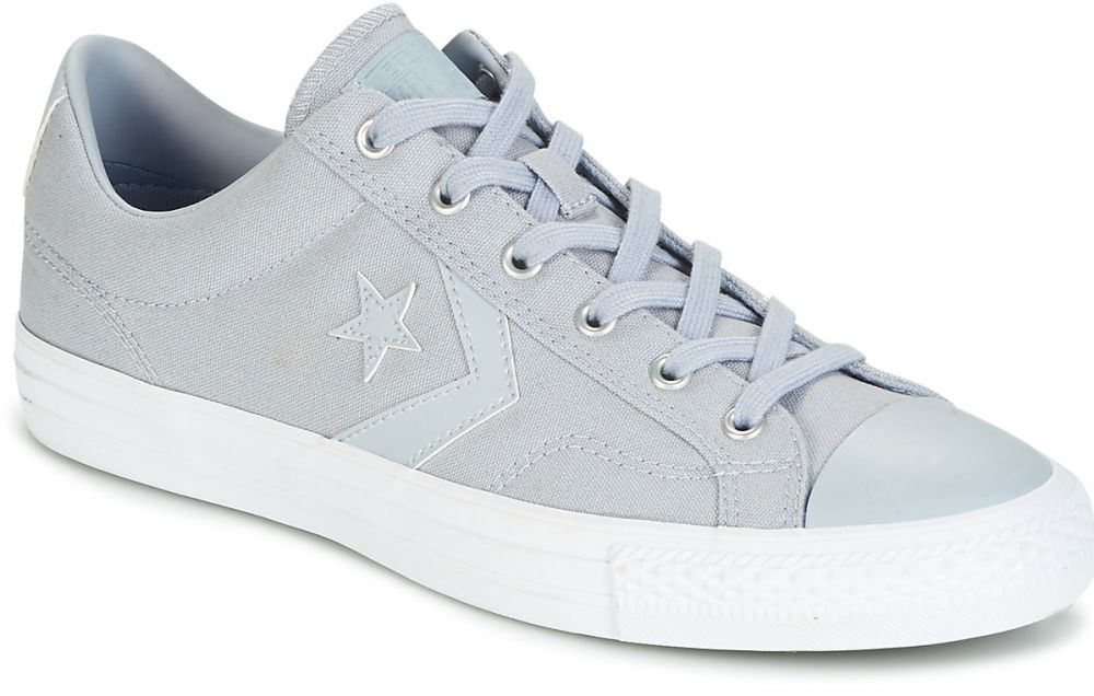Nízke tenisky Converse STAR PLAYER CANVAS WITH GUM OX WOLF GREY WOLF  GREY WHITE značky Converse - Lovely.sk 9675bc0894c