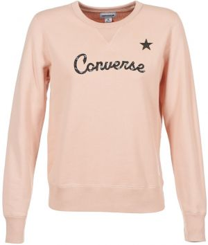 Mikiny Converse  CONVERSE ESSENTIALS STAR GRAPHIC CREW