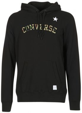 Mikiny Converse  CONVERSE ESSENTIALS CAMO STAR PULLOVER HOODIE