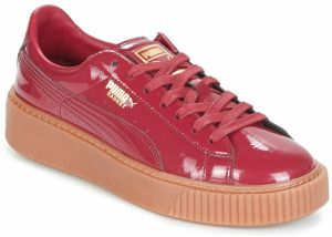 578128783b Červené dámske tenisky na platforme - Lovely.sk