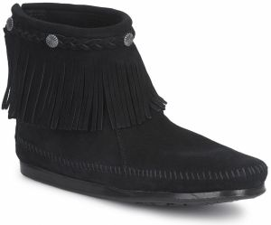 Polokozačky Minnetonka  HI TOP BACK ZIP BOOT