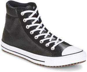 Členkové tenisky Converse  CHUCK TAYLOR ALL STAR BOOT PC LEATHER AND SUEDE HI BLACK/BLACK/W