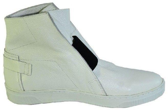 809444af67f0e Členkové tenisky John-C Biele uzatvorené topánky bez opätku s čiernym  detailom EMA