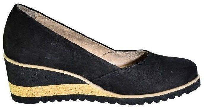 97f20408fa Lodičky Karino Kožené čierne topánky na vysokom opätku značky Karino -  Lovely.sk