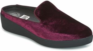 Šľapky FitFlop  SUPERSKATE MULES IN VELVET