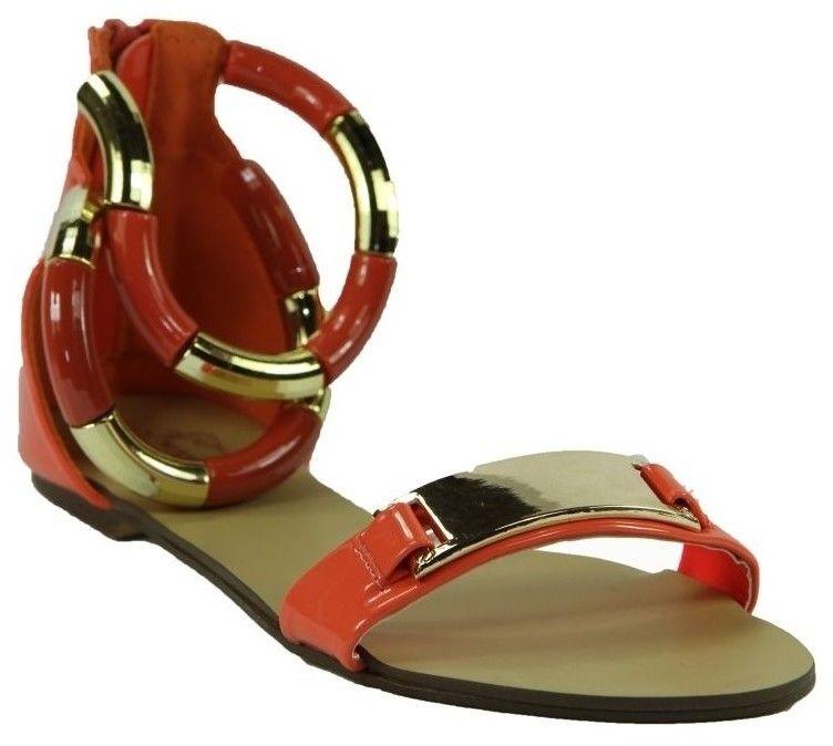885405fb06 Sandále Mermaid ČERVENÉ NÍZKE SANDÁLE 32-M41428D značky MERMAID ...