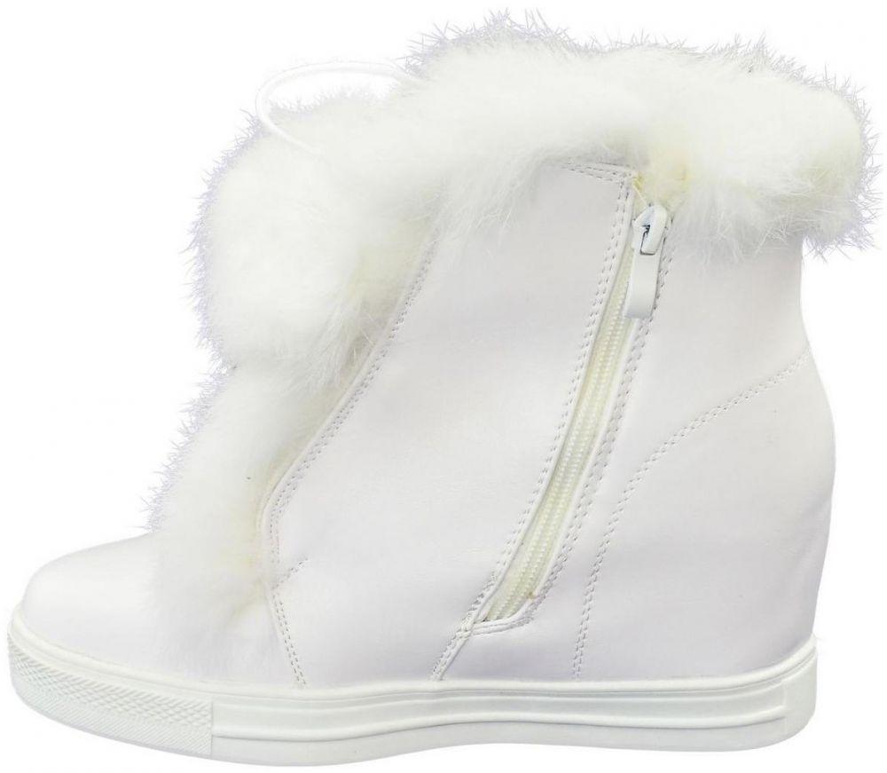 Obuv do snehu Seastar Dámske biele čižmy NIMUE značky Seastar ... 322f092afd5