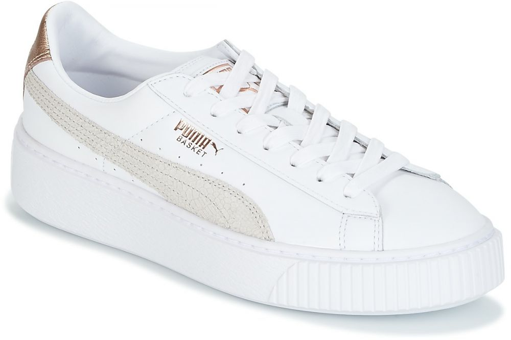 Nízke tenisky Puma BASKET PLATFORM EUPHORIA značky Puma - Lovely.sk b6cdb055329