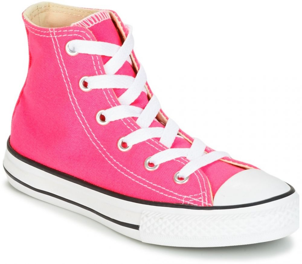 Členkové tenisky Converse CHUCK TAYLOR ALL STAR SEASONAL HI PINK POW značky  Converse - Lovely.sk acdb22648a3