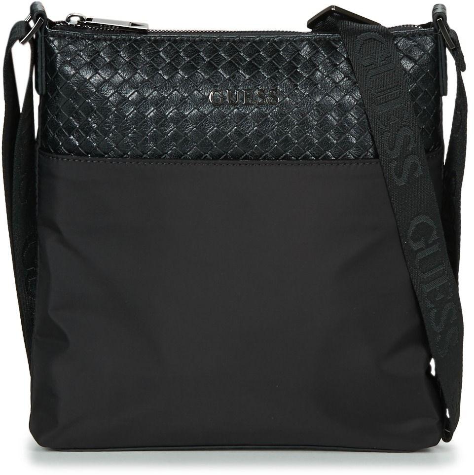 Vrecúška Malé kabelky Guess MILANO FLAT CROSSBODY značky Guess - Lovely.sk ce089ede8d3