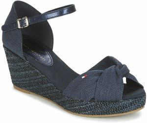 Sandále Tommy Hilfiger  ICONIC ELBA METALLIC CANVAS