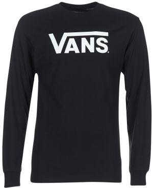 Čierno-biele pánske tričko s potlačou VANS New Raglan značky Vans ... 44256246121