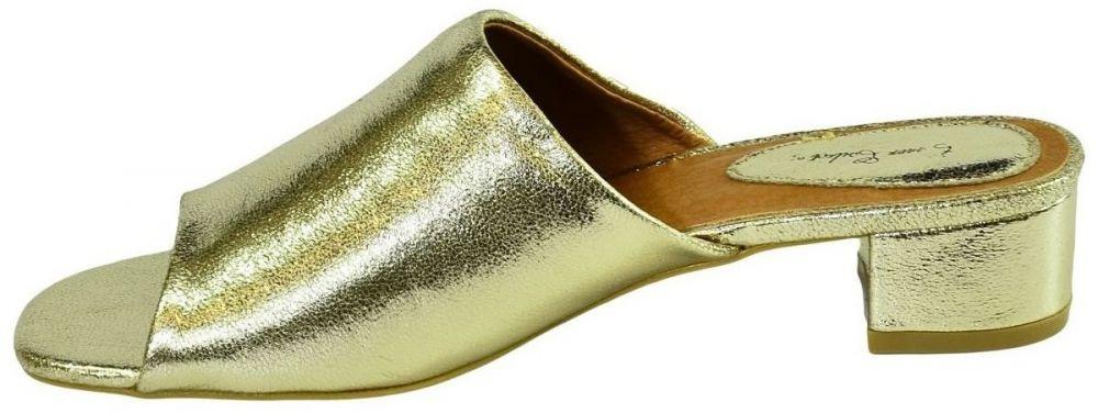 0cdf191364fa Šľapky Comer Dámske elegantné zlaté šľapky LUNA značky COMER - Lovely.sk