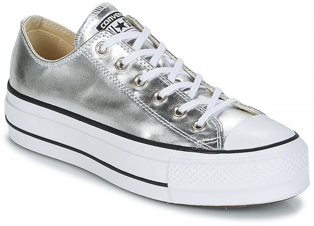 e7c760b4703 Nízke tenisky Converse Chuck Taylor All Star Lift Clean Ox Metallic Canvas  značky Converse - Lovely.sk