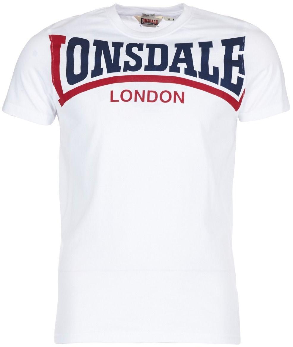 baf74e0a5603 Tričká s krátkym rukávom Lonsdale CREATION značky LONSDALE - Lovely.sk