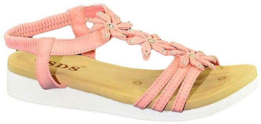 c5bf5463e22cf Sandále John-C Dámske ružové sandále TAMI značky John-C - Lovely.sk