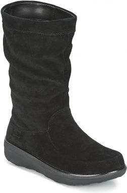 Polokozačky FitFlop  LOAFF™ SLOUCHY KNEE BOOT