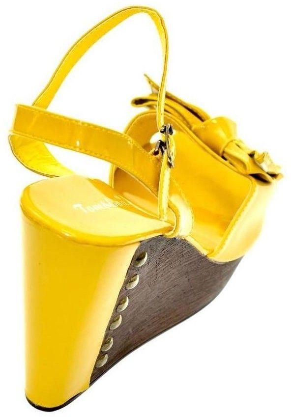 6c8dc3ef3660 Sandále John-C Dámske žlté sandále UNISTER značky John-C - Lovely.sk