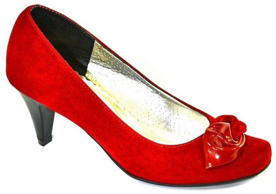 e5b917275e73 Lodičky John-C Dámske červené lodičky AGENE značky John-C - Lovely.sk