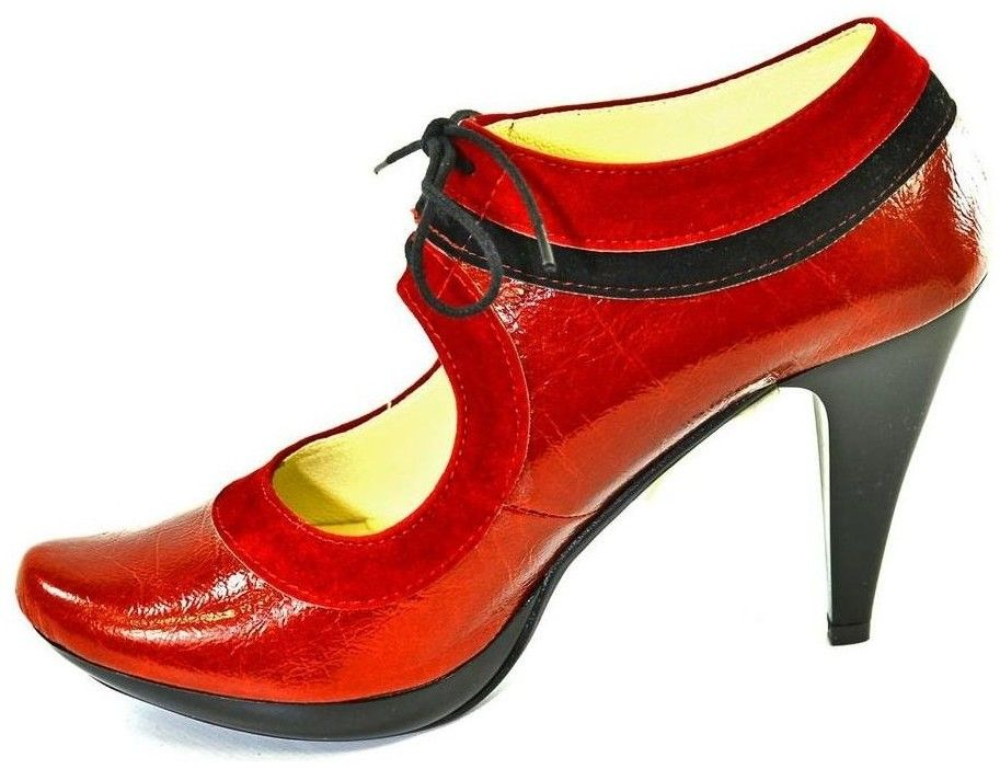 ba175181f4565 Lodičky John-C Dámske červené topánky ALLAS značky John-C - Lovely.sk