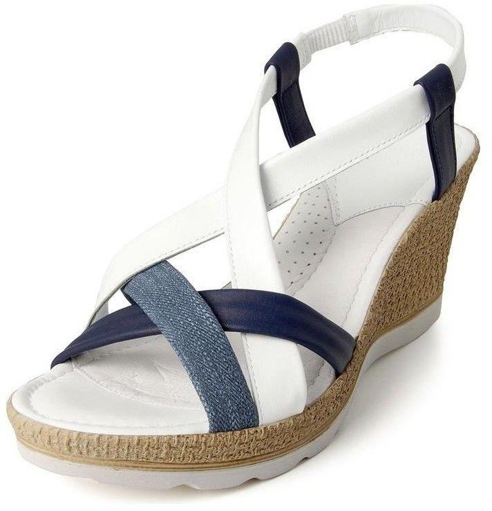 0662e0f22b Sandále Batz Dámske kožené modré sandále MIAMI značky Batz - Lovely.sk