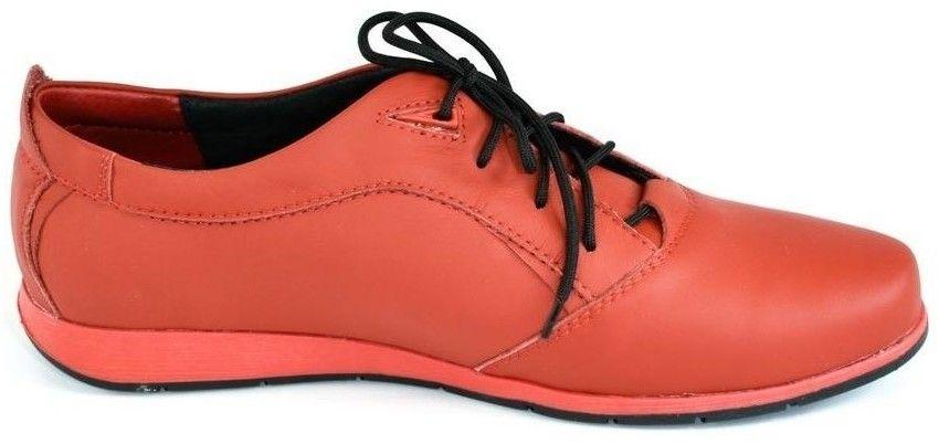 29edb6df60d32 Nízka obuv do mesta Krezus Pánske kožené červené topánky KEIT značky ...