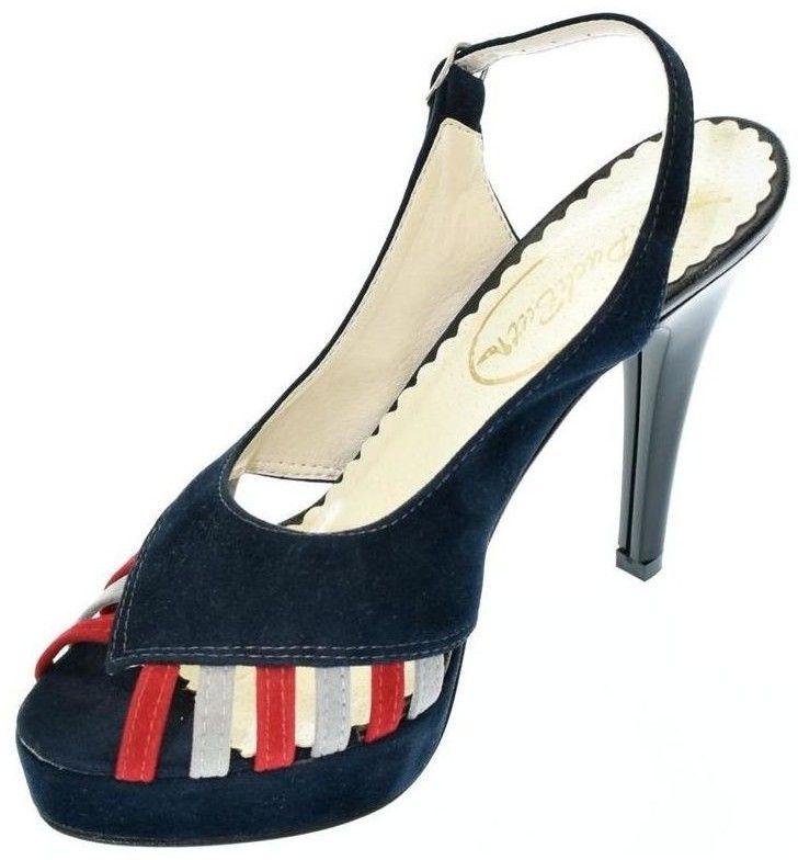 0b690c017d0d Sandále John-C Dámske tmavo-modré sandále LIA značky John-C - Lovely.sk