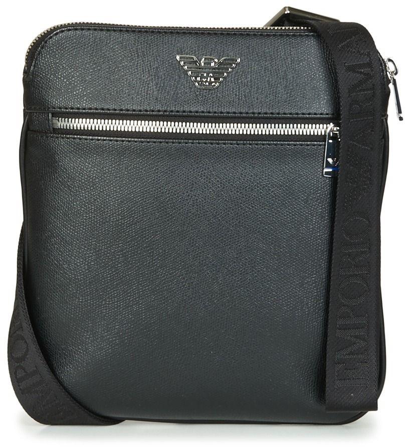 Vrecúška Malé kabelky Emporio Armani BUSINESS FLAT MESSENGER BAG ... 6379c7501e3