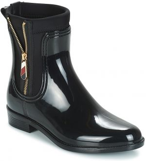 Čižmy do dažďa Tommy Hilfiger  MATERIAL MIX RAIN BOOT