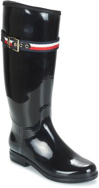 Čižmy do dažďa Tommy Hilfiger  CORPORATE BELT LONG RAIN BOOT