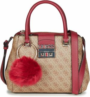 Kabelky Guess  LOGO LUXE SMALL SOCIETY SATCHEL