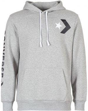 Mikiny Converse  CONVERSE STAR CHEVRON GRAPHIC PULLOVER HOODIE