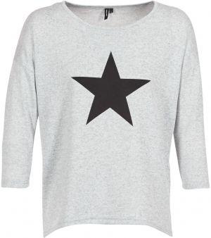Vero Moda Dámske tričko Jakuri 3 4 Cuff Frill Top D2-2 Light Grey ... 4d8848a9af