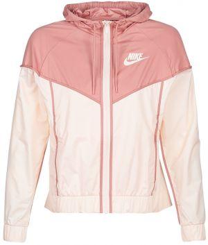 Sivo–ružová dámska vzorovaná bunda Nike značky Nike - Lovely.sk 1028f7afecc